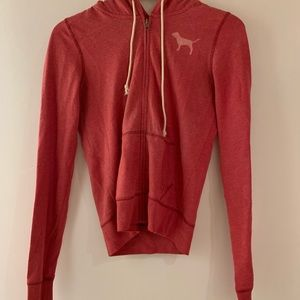 PINK zipper jacket